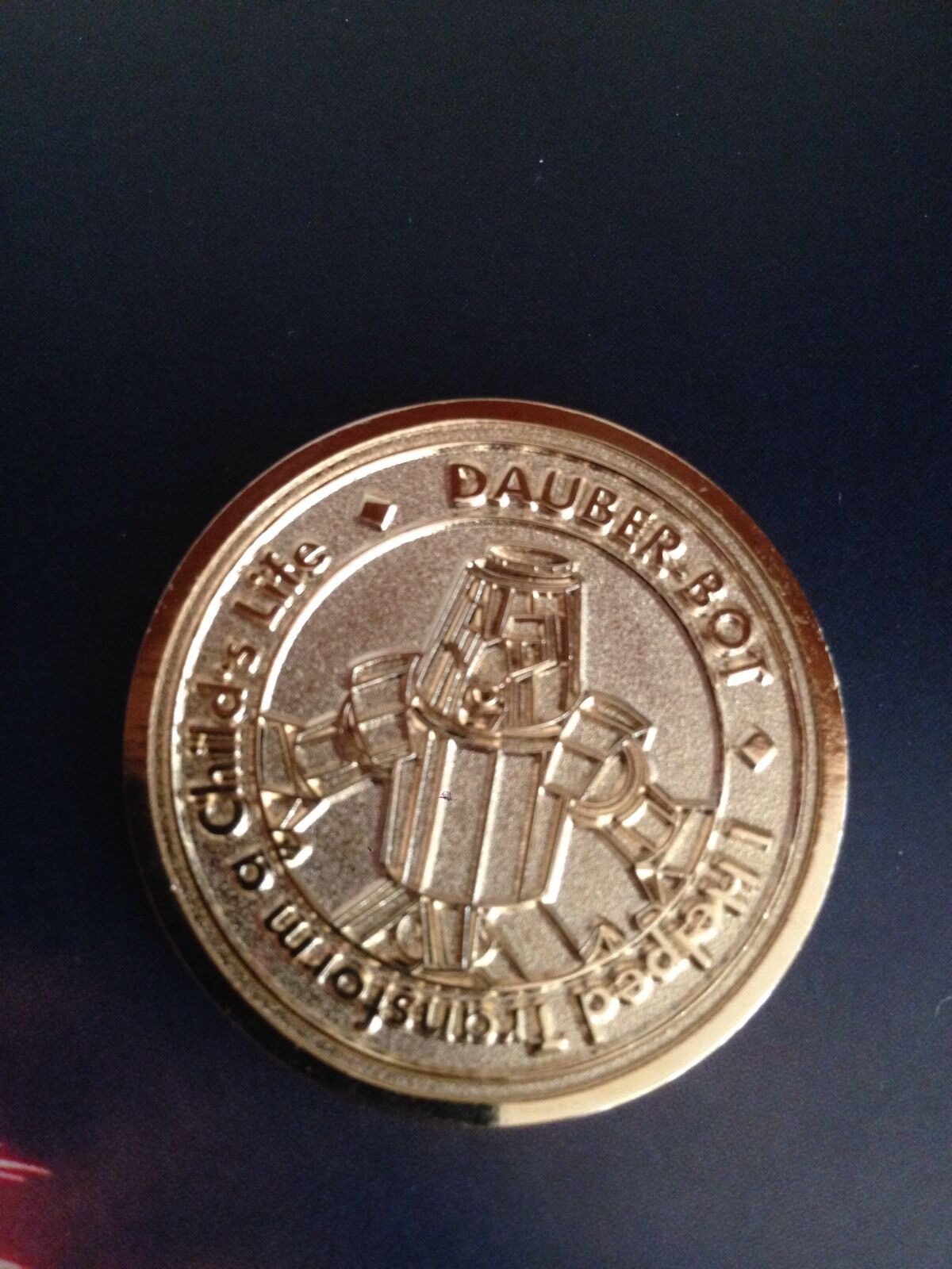 Botcon 2016 Transformers Bingo Coin Dauberbot Extremely Limited