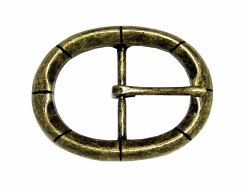 """Oval Single Prong Center Bar Replacement Belt Buckle 1-1//2/"""" wide 38mm"""