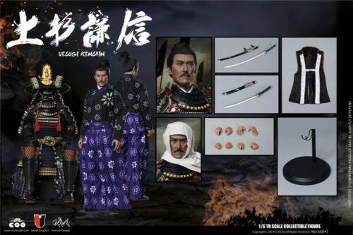 1 6 COOMODEL SE043 Empire Series Uesugi Kenshin Action Figure Normal Ver.