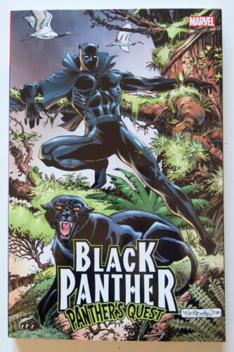 Black Panther Panther/'s Quest Marvel Graphic Novel Comic Book