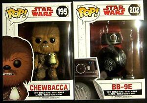 The Last Jedi Farben Sind AuffäLlig + Bb-9-2 Figuren Set / Funko Pop + Porg Sanft Star Wars Chewbacca