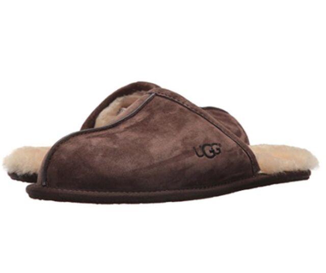 4874cf9d903 UGG Australia Men s Scuff Suede Espresso Slippers 5776 M   ESP 9 for ...
