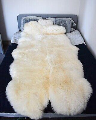 Natural Sheepskin Rug Quad Soft