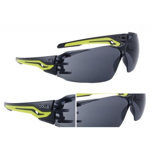 Tact Brille BOLLÉ® SILEX schwarz gelb Schutzbrille Sonnenbrille Sport Outdoor