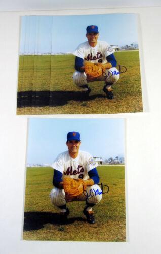 Martin Signed 8 x 10 Photos Mets Autos Lot of J.C 10