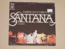 "SANTANA -Everybody's Everything- 7"" 45"