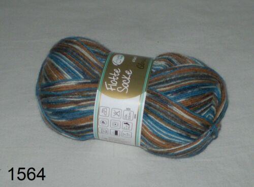 4-fädig  Musterbildend 100 gr GLORIA Sockenwolle von RELLANA 4-fach