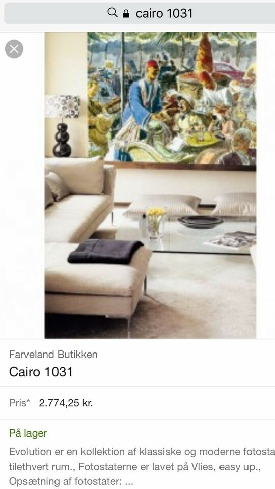 Wallpaper, Atlas, motiv: Cairo