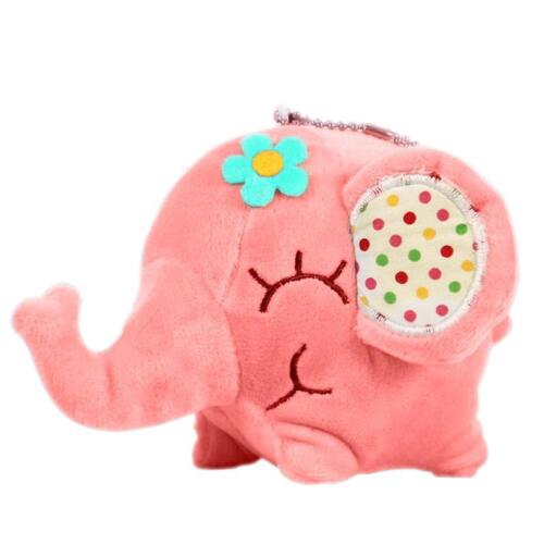 Cute Elephant Soft Plush Toy Mini Stuffed Animal Baby Kids Gift Doll CFF New