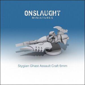 Epic 40k Reavers Drukhari Dark Eldar Stygian Ghast Assault Craft  6mm Onslaught