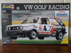 Revell-1-24-No-7339-VW-Golf-II-Racing-Valvoline-039-Rare-039-Plastic-Modelkit-1991