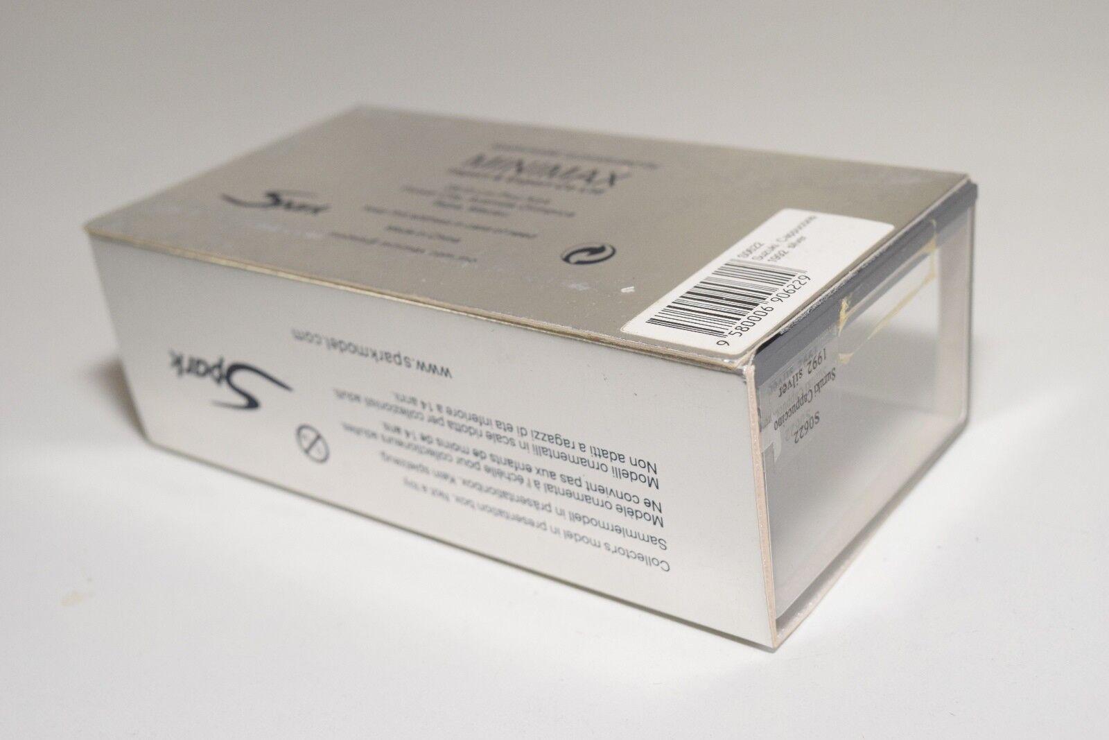 T SPARK S0622 SUZUKI SUZUKI SUZUKI CAPPUCCINO 1992 plata MINT BOXED 872b12