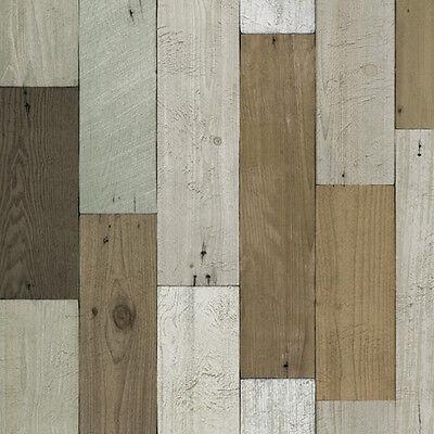 Wood Panel Contact Paper Self Adhesive Wallpaper Living Rooms Countertop Cabinet