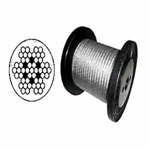 Vinyl Coated Wire Rope Cable 1/16 - 1/8 7x7 : 100, 200, 250, 500 ...