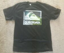 Quiksilver Boys Kids BLACK LOGO T-SHIRT NWT  SIZE X-LARGE(18/20)