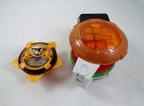 /'15 Bandai Japan Sentai Ninninger DX Burger Morpher Power Rangers Ninja Steel