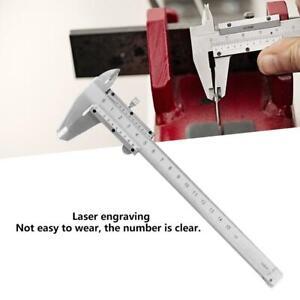 0-150mm-Numerique-Pied-a-Coulisse-Vernier-Caliper-Metal-en-acier-au-carbone