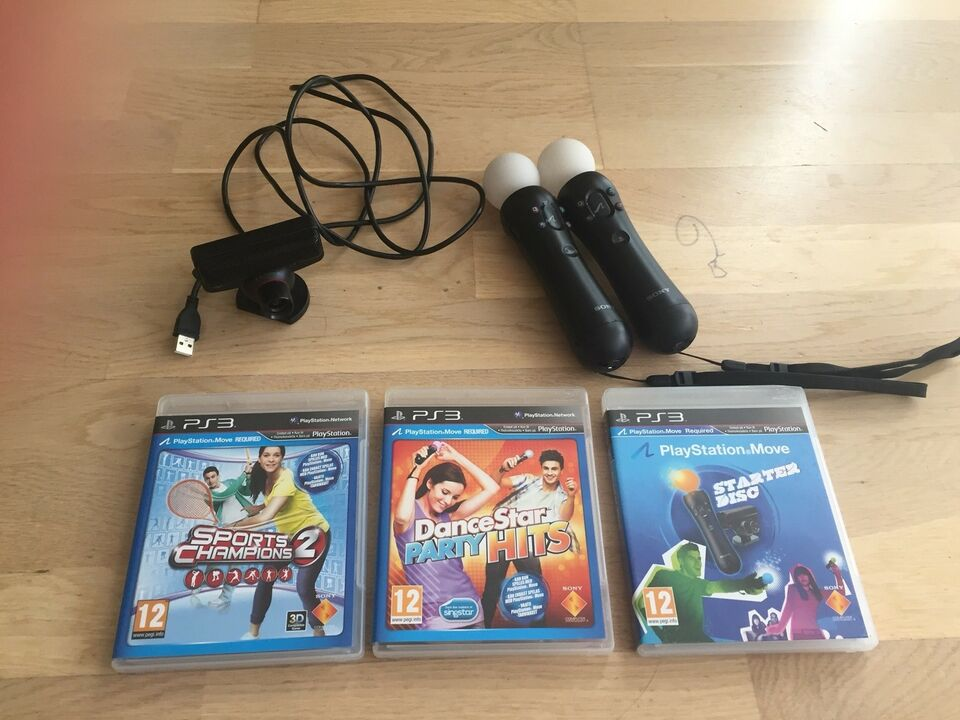 PlayStation Move (PS3), PS3, sport