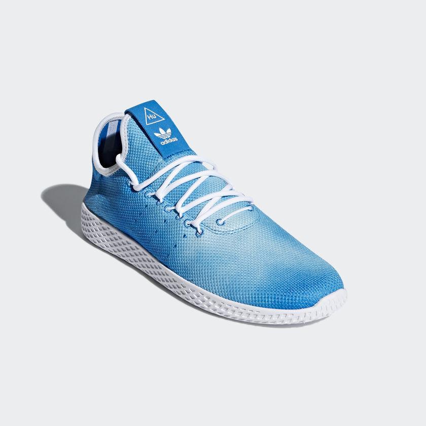 männer adidas pharrell tennis hu holi weiß festival helles blau - weiß holi - 8 - 13 cf4c7b