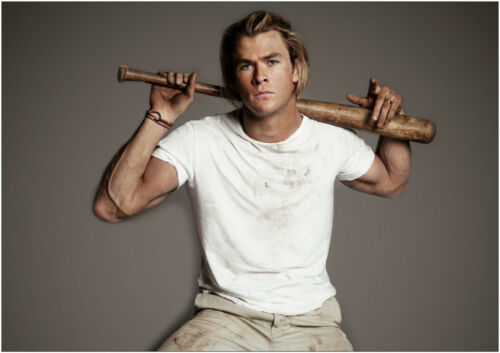 A0 A1 A2 A3 A4 Sizes Available Chris Hemsworth Thor Giant Poster Art Print