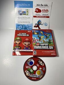New-Super-Mario-Bros-Wii-Nintendo-Wii-Game-amp-Manual