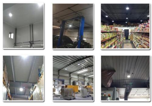 480Volt 240W LED Workshop Highbay Light Replace 1000W Warehouse Gym Lights 5000K