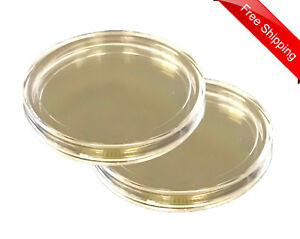 Two-XL-Large-2-034-Coin-Safe-Capsules-For-2-Oz-Coins-Medal-50-6mm-4-16mm-Archival
