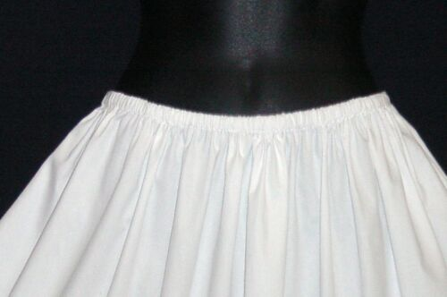 """Crisp Cotton petticoat prices from £19.99 lengths 23/""""-40/"""" knee to floor length"""