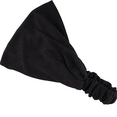 Baby & Toddler Clothing Modest Knit Headwrap Black