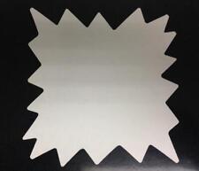 White Starburst Price Signs 5x5 Display Cards Retail Farmer Mkt 100 Lot