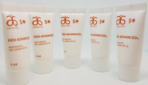 5x-3ml-Arbonne-RE9-Advanced-Restorative-Day-Cream-SPF20-Medium-protection-VEGAN