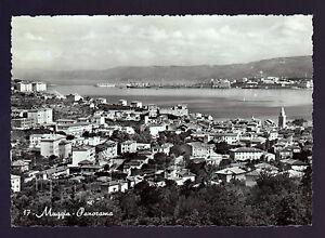 MUGGIA-TRIESTE-CARTOLINA-PANORAMA-FG-VG-1957-EDIZ-F-BRESCIA-OMNIAFOTO
