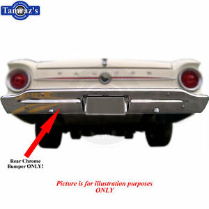Image Is Loading  Falcon Ranchero Chrome Rear Bumper