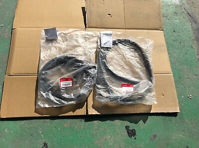 Honda Genuine CIVIC EG4 EG6 1995 SUB SEAL FRONT DOOR RH LH Set From Japan