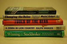 MAKE A FORTUNE BY SHORTING STOCKS & ACTING AS YOUR OWN BROKER- 5 GREAT BOOKS