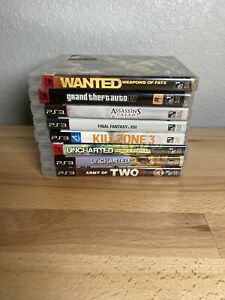 PS3-Lot-Of-8-Games-Bundle-Sony-Playstation-3-Shooter-And-Adventure-Games