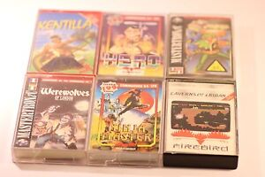 RARE-MIX-JOB-LOT-Of-6-Games-Commodore-64-C64-128-CASSETTE-GAMES
