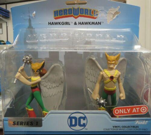 New Funko Hero World Dc Comics Series 1 figures Hawkman-Hawkgirl Justice League