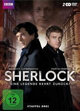 Sherlock - Staffel 3 [2 DVDs] NEU DEUTSCH Komplette Season 3 DVD