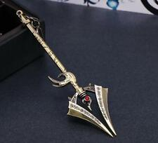 DZ683 ZHAOXIN League of Legends LOL Game Anime Weapon Metal Model Key Ring 12cm☆