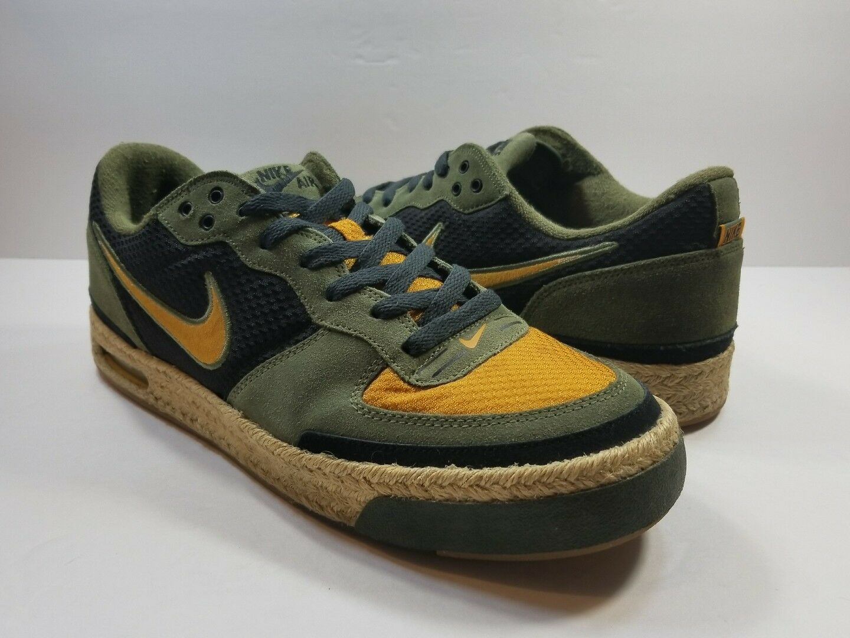 Nike Air Captivate Men's Army Olive Chutney 11 Espadrille 314336-371 - Size 11 Chutney fd337f