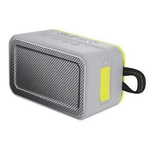 Skullcandy BARRICADE XL Wireless Bluetooth Portable Speaker - Grey/Lime