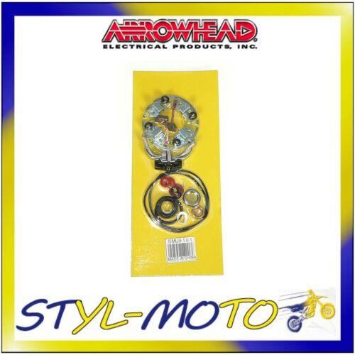 SPAZZOLE ARROWHEAD HONDA CB650SC NIGHTHAWK 1985 REVISIONE MOTORINO AVVIAMENTO