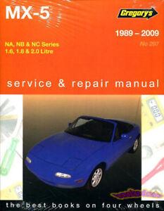 shop manual service repair book owner miata mazda mx5 1989 2009 rh ebay ie Mazda MX-5 Miata Miata Shop Manual