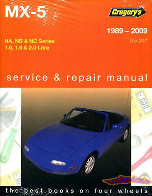 shop manual service repair book owner miata mazda mx5 1989 2009 rh ebay com Online Repair Guide repair guide manuals rack and pinion civic 97