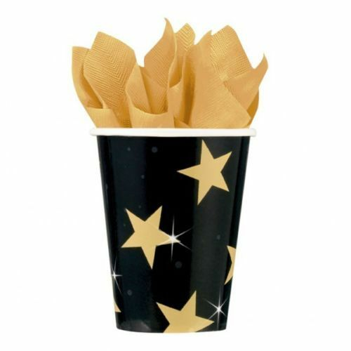 Pack of 8 Hollywood Movie Star Paper Party Cups - Hollywood - Party