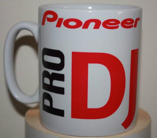 Custom made pioneer pro DJ CDJ producer artist novelty mug