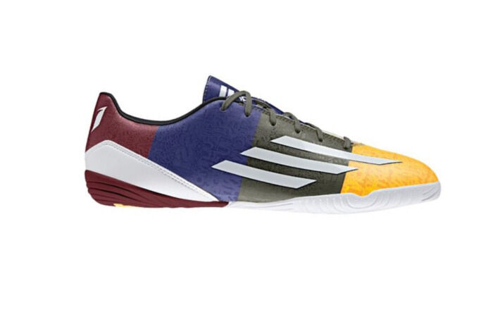 Adidas Messi F10 IN shoes Solar gold White Earth Green M21766 Sz. 7.5-12