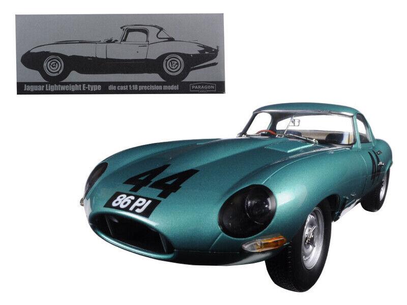1963 Jaguar ligero E-type 44 Arkins 86 PJ 1 18 Diecast Modelo Coche por Paragon