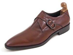 Baldinini Single Monks Brown Leather